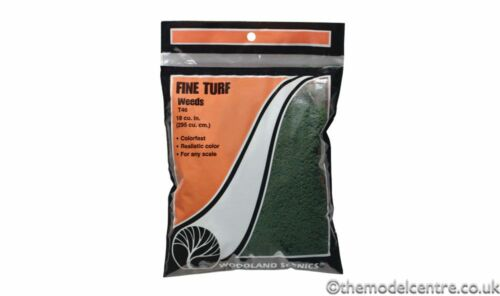 T46 Woodland Scenics Weeds Fine Turf Bag TMC
