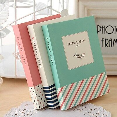 """""""Episode"""" 1pc Journal Diary Cute Pocket Planner Blank Paper Notebook Notepad"""