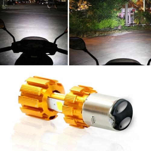 Motorcycle 360°COB headlights led bulb modification glare built-in headlights