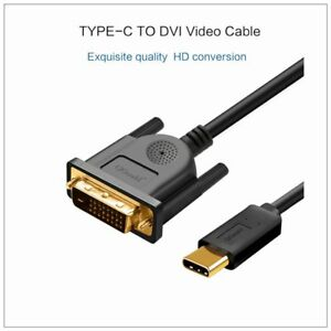 1-8M-USB-Type-C-USB-C-Thunderbolt-3-to-DVI-Cable-Male-to-Male-Converter