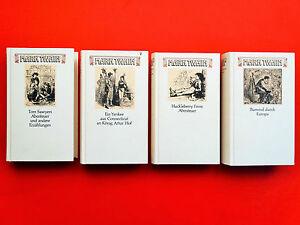 4-x-Mark-Twain-Buecherbund-Ausgabe-1966-Zustand-sehr-gut-gut-gebraucht