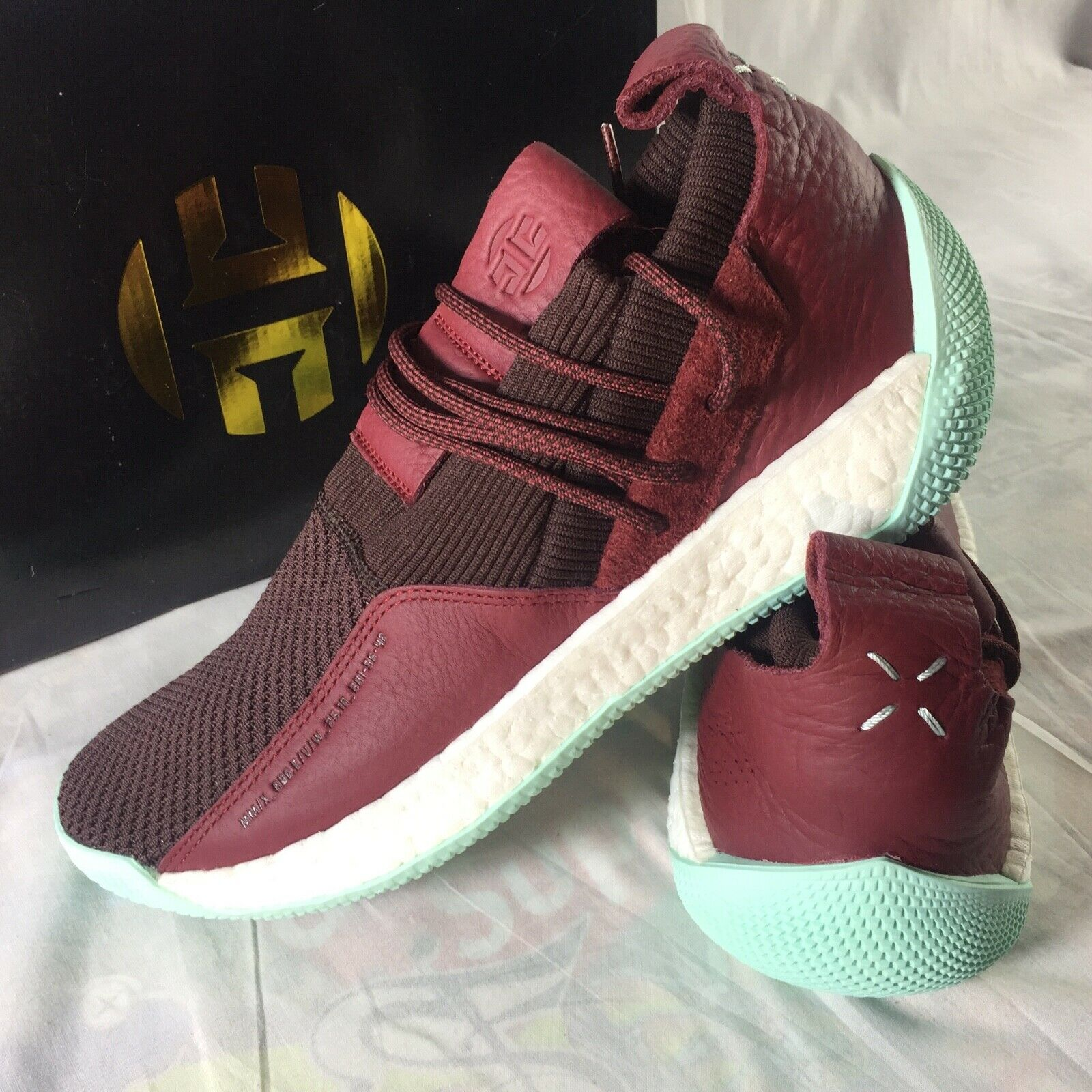 809db9697 Adidas Harden LS 2 Lace Men s Size 12 Boost Boost Boost Basketball shoes  Sneakers NEW CG6277