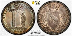 PCGS-MS-63-BERN-SWITZERLAND-SILVER-GYMNASIUM-MEDAL-034-THALER-034-CA-1825-POP-2-0