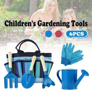 Kids Garden Tools Set Shovel kit Rake trowel Loosening Soil Planting Tool Mini