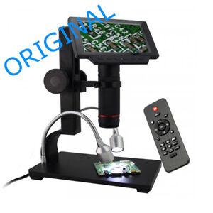 A57-560X-5-034-LED-Digital-Mikroskop-Endoskop-Lupe-Kamera-USB-HDMI-AV-TF-Staender