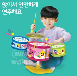 Pinkfong Baby Shark Family Exciting Little Drum Cymbals