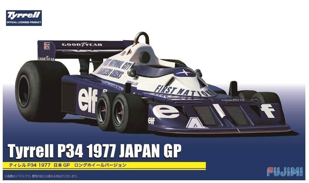 mejor reputación Fujimi 092058 Tyrrell Tyrrell Tyrrell P34 1977 Japan Gp 1 20 Modelismo  se descuenta