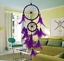 Classic-Dream-Catcher-with-Feather-Nets-amp-2-Rings-UK-Stock-FREE-P-amp-P thumbnail 11
