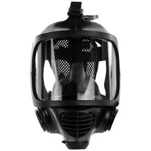 Zivilschutzmaske Vollmaske ACE Calypso CM-6 RD40 Anschluss Atemschutzmaske