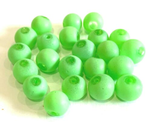 UK Seller BXCH 10mm Rubberised Neon Beads approx 50pcs Choice of Colours