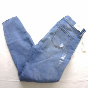 New Womens Pacsun High Rise Ankle Jegging Stretch Distressed Denim ... cc61edc04