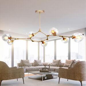 Modern Ceiling Lights Lobby Gold Led Chandelier Kitchen Large