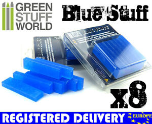 Blue-Stuff-8Bars-Make-reusables-instant-molds-Warhammer-40K-OOAK-Doll-Reborn