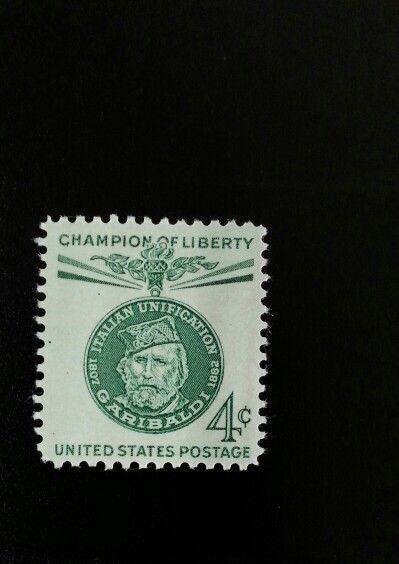 1960 4c General Guiseppe Garibaldi, Kingdom of Italy Sc