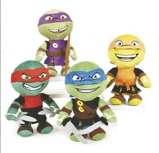 Turtles 4 Stofftiere 30 cm Donatello Leonardo Michelangelo Raphael Raphael Raphael 32823 9bf644