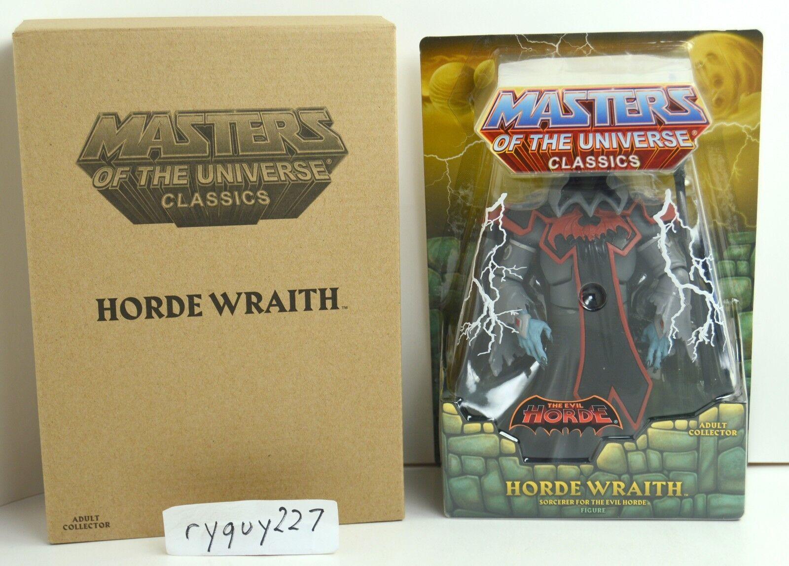 MOTUC, Horde Wraith, Masters of the Universe Classics, MOC, figure, sealed, MISB