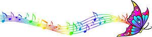 Multicoloured-Rainbow-Butterfly-Music-Notes-Vinyl-Car-Sticker-Wall-Art-Bedroom
