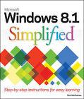 Windows 8.1 Simplified by Paul McFedries (Paperback, 2013)
