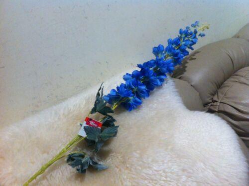 "40/"" H Artificial Blue Delphinium Decoration Party by Better Home New pk 10"