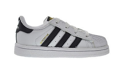 Baby Shoes Popular Brand Adidas Superstar I Baby Toddlers Shoes Running White/collegiate Black C77913 Unisex Shoes