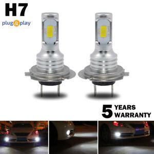 Pair-H7-LED-Headlight-Bulbs-Conversion-Kit-Super-High-Low-Beam-4000LM-6000K-80W