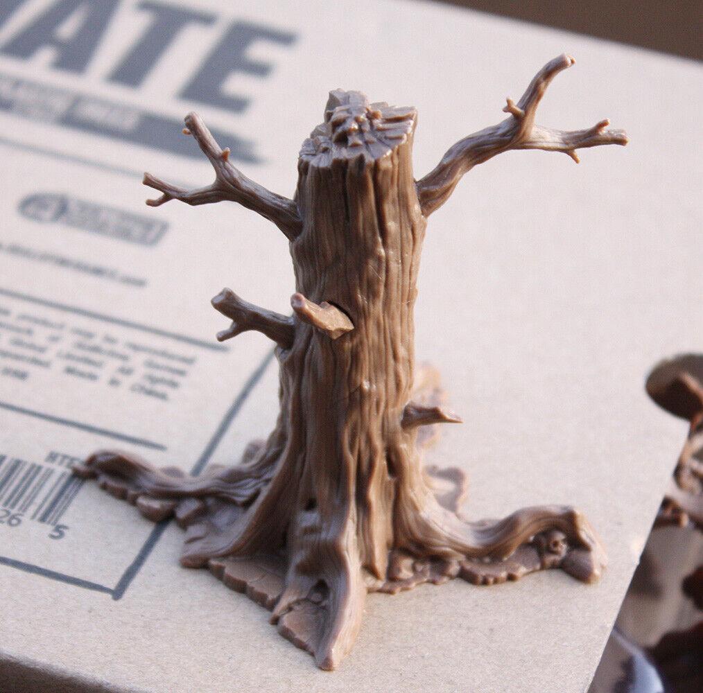 HATE - 3D PLASTIC TREES (8) - NEU - KS Exklusiv - ADRIAN SMITH