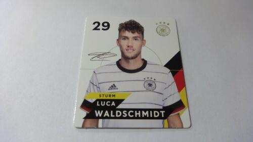 "Sammelkarte neu ! Nr 29 /""Luca Waldschmidt/"" REWE : EM 2020"