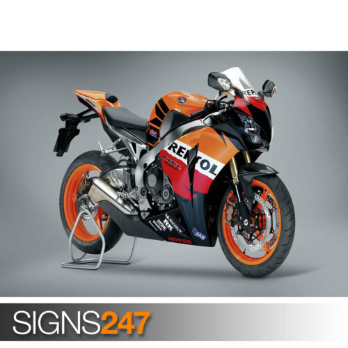 Motorbike Poster 1722 Picture Poster Print Art A0 A1 A2 A3 A4 HONDA REPSOL