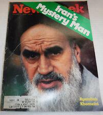 Newsweek Magazine Iran Mystery Man Ayatollah Khomeini February 12, 1979 101016R