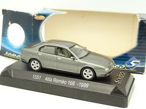 Solido-1-43-Alfa-Romeo-166-Anthracite