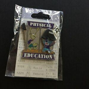 WDW-Stitch-amp-Pleakley-Disney-Pin-Celebration-2008-Physical-Education-LE-61913