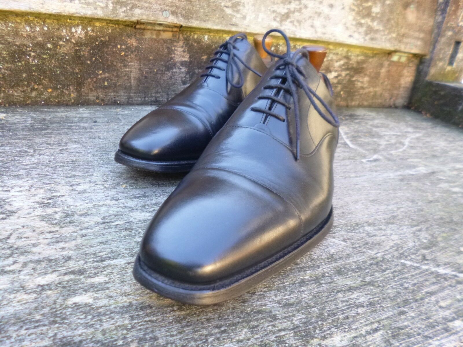 CHEANEY CHEANEY CHEANEY / CHURCH ( GIEVES & HAWKES ) OXFORD – BLACK - UK 8.5 – EXCELLENT COND 7319fd