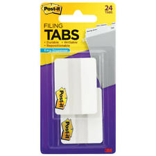 Post It Notes Durable Filing Tabs 2 White Pack Of 24 Tabs Tabs