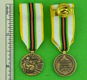 COLD-WAR-VICTORY-MINIATURE-MEDAL-Veterans-1946-1991-Mini-Service-Medal