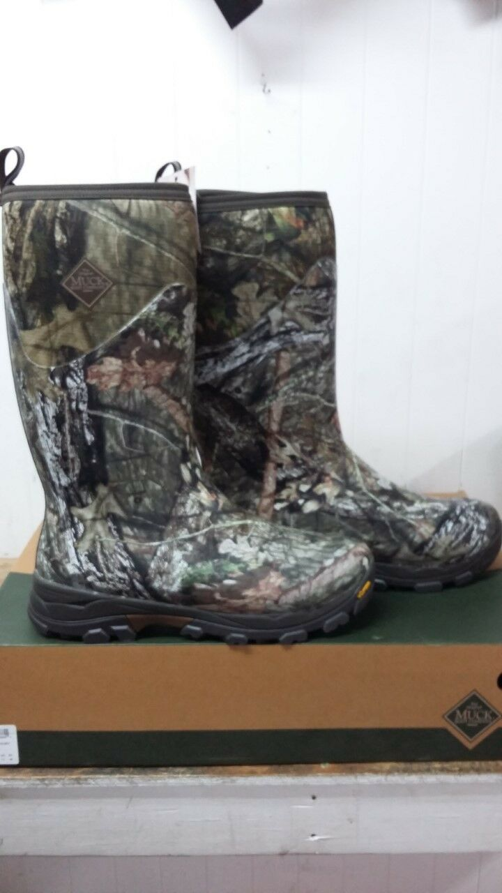 Muck Boots Men's Woody Arctic Ice Mossy Oak Vibram Sole
