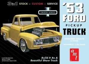 AMT-1953-Ford-Pickup-1-25-scale-model-car-kit-new-882