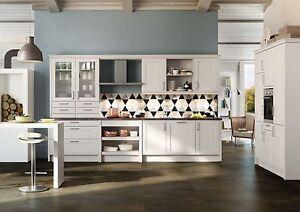 Schüller Küche Canto Weiß Satinlack | eBay