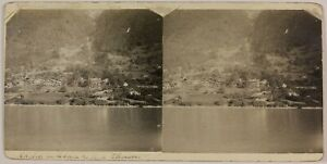 Suisse Lago Di Thun 2 Foto Impianti Stereo St9T2n10 Vintage Analogica c1900