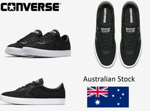 Converse-Cons-Lowtop-Breakpoint-555981-Canvas-Shoes-Sneaker-Womens-Size-10-Black