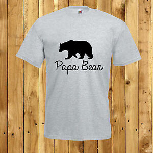 Image Is Loading Papa Bear T Shirt Fathers Day Daddy Birthday