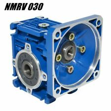 Nmrv 030 Speed Reduction Worm Gear Reducers Gearbox Right Angle Ratios 5 To 80