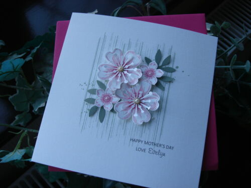 Personalised Handmade Mother's Day Card / Birthday Card