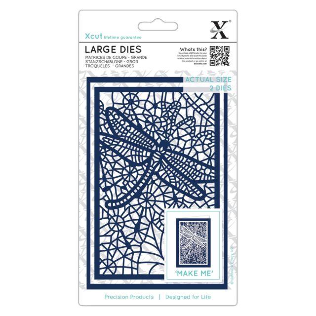 Docrafts Xcut 15 piece A5 sheet FAMILY TREE die set use X cut Sizzix eBosser etc