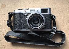 Fujifilm X Series X100 12.3 MP Digital Camera Silver With Extras
