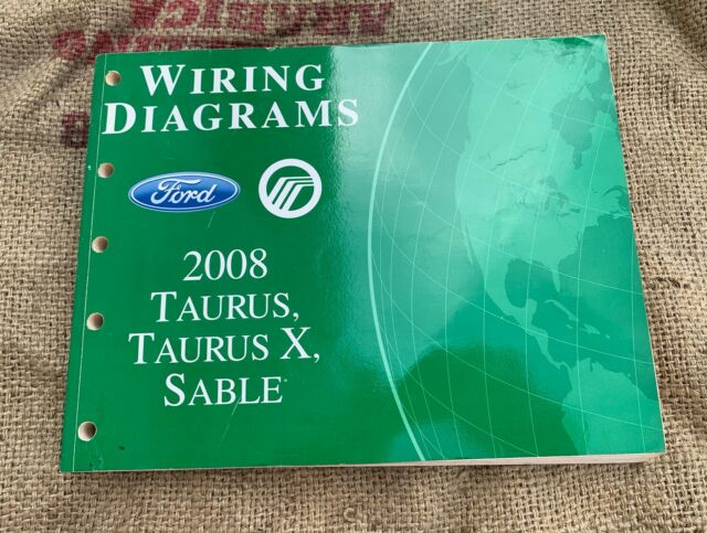 Oem Ford Wiring Diagrams 2008 Taurus    X Mercury Sable Repair Service Manual