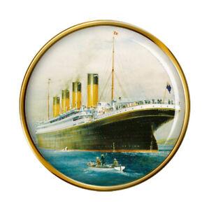 Titanic-Stern-Broche-Badge