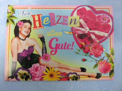 8129-31A Von Herzen alles Gute Postkarte