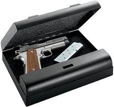 Gun Vault MV500-STD MicroVault Gun Safe with 20-Gauge Steel Exterior in Black