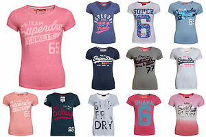 New-Womens-Superdry-Factory-Seconds-Tshirts-Selection-Various-Styles-1807