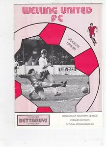 WELLING-V-GOSPORT-BOROUGH-SOUTHERN-LEAGUE-19-10-85